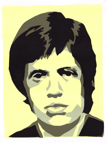 mick-jagger-yellow